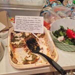 lasagna spread